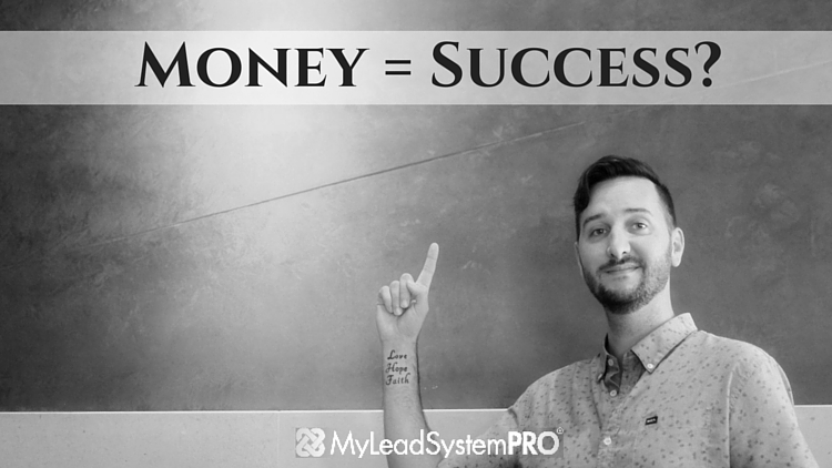 Does Money Equal Success