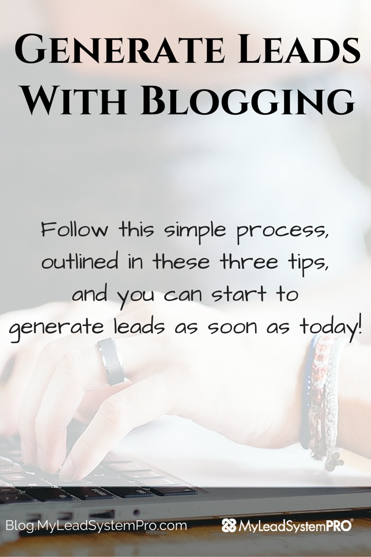 "Have you ever created a blog post that you were ""Over the Top"" about? You couldn't wait to get it out to your favorite social media site to reap the rewards…Leads!... Only instead you got little to no return? Watch this video to learn how to start generating leads with blogging!"