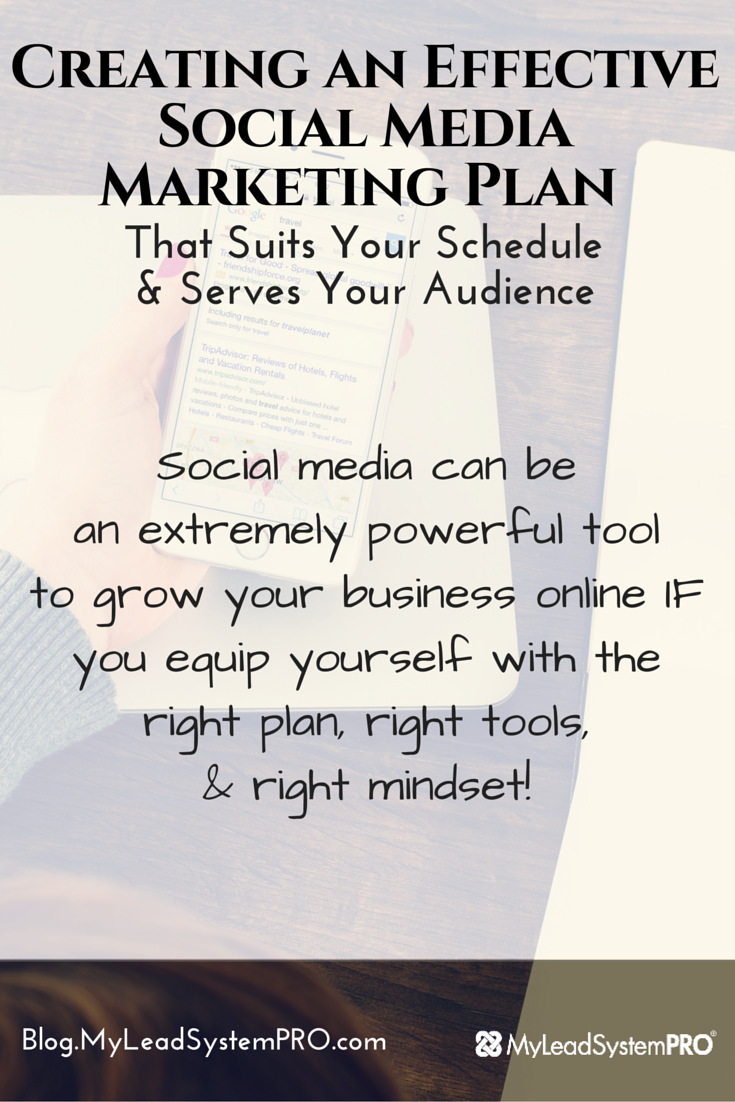 Do you struggle with creating an effective social media marketing plan that both fits in with your schedule and still provides massive value to your audience on a consistent basis? This post will help you create an effective social media marketing plan no matter the social media site you choose!