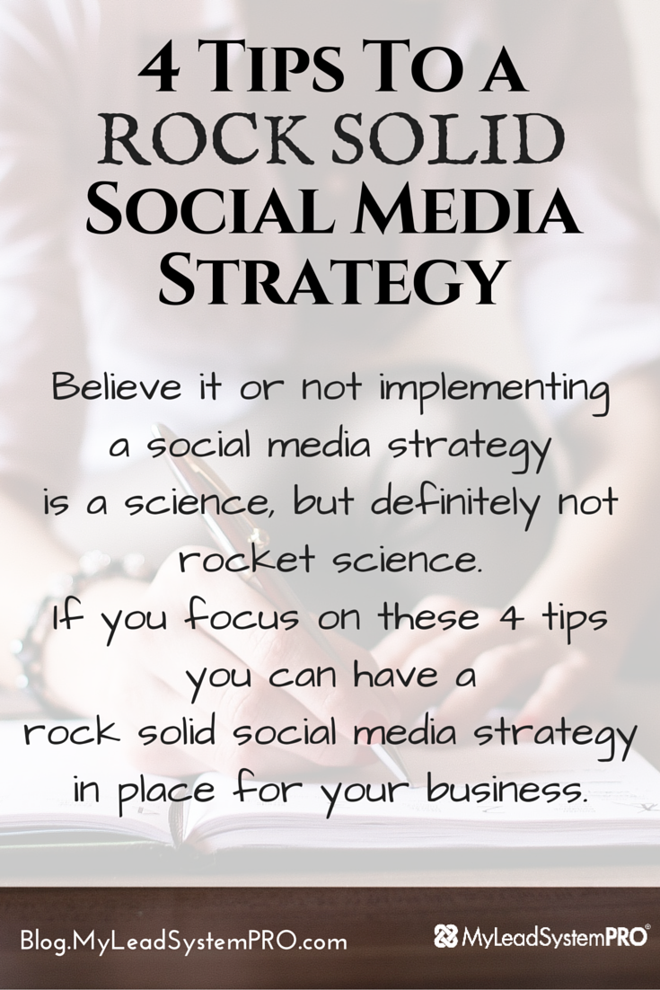 The 4 things you need to focus on to help you put a solid social media marketing plan in place... so you can focus on moving forward in your business instead of moving backwards by just winging it.