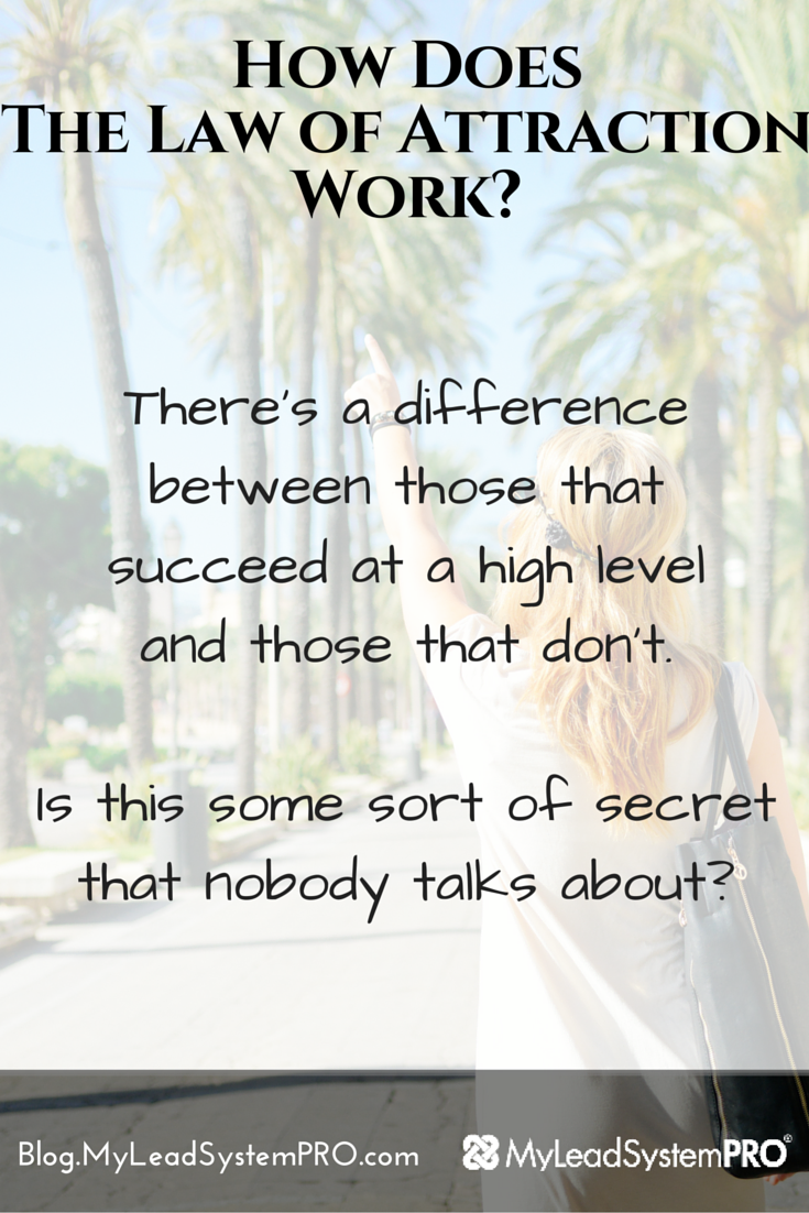 Truth: The law of attraction IS working in your life right now whether you realize it or not. The question is: Are you attracting the things you want, or the things you don't want? Find Out How to Attract the Things That You Do Want and Make the Law of Attraction Work FOR You!
