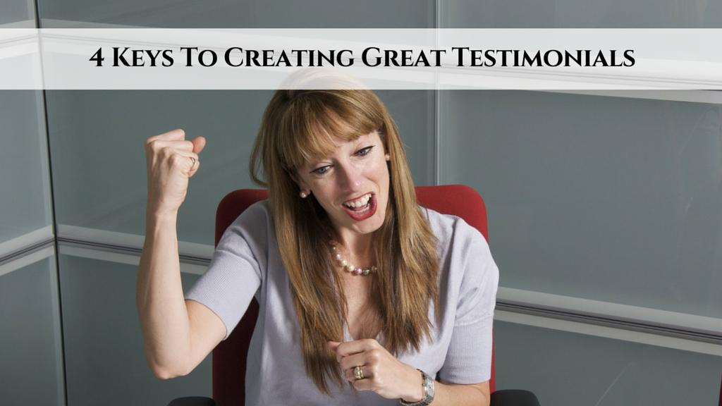Creating Great Testimonials