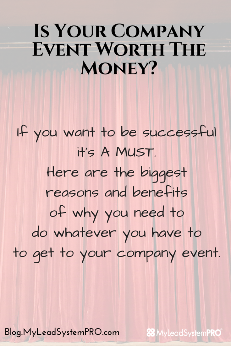 Quick question: Should you attend your company events? Is it really worth your time and money?