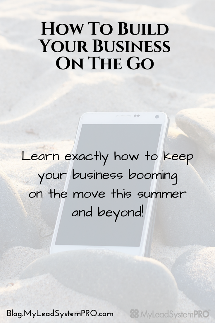 Chances are that your schedule will change a bit this summer. Road trips will happen. Full on vacations will happen. The kids will be out of school. You'll get more daylight. It's the perfect time to be able to build your business on the go... without having to be chained to a desk. L5 Keysha Bass is going to help you figure out exactly how to make that happen.