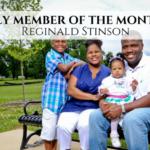 MOTM July Reginald Stinson