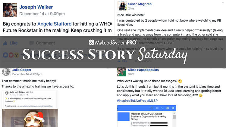 [Success Story Saturday] He's Shouting It Out – Because She Hit 20 Leads in ONE Day!! 1