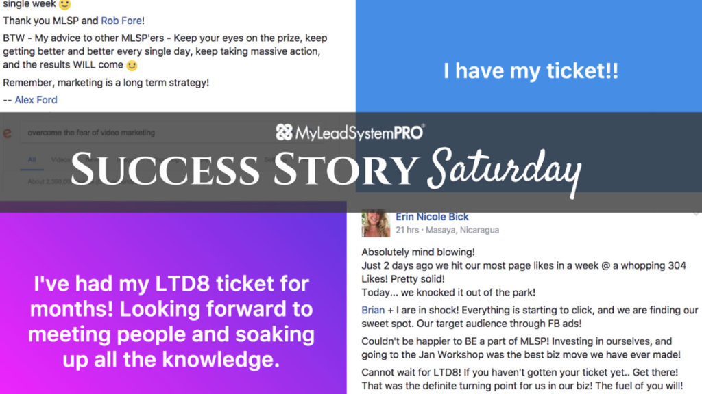 "[Success Story Saturday] ""Today Is My 1st $1000 MLSP Commission! WooHoo!"""