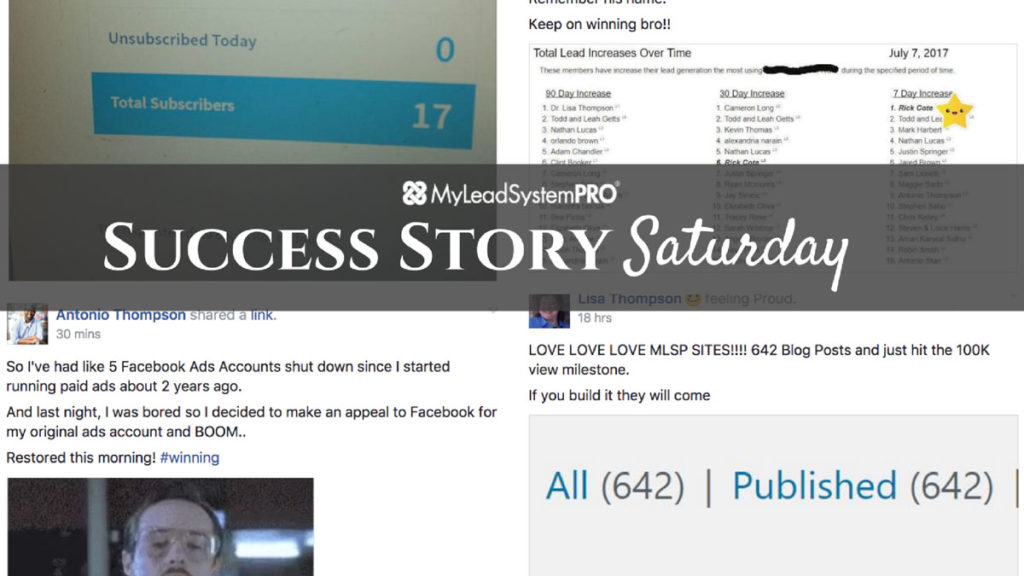 """[Success Story Saturday] """"I Have Generated Well Over 500 Leads in the Past 3 Days and I Was on Vacation All Week!"""""""