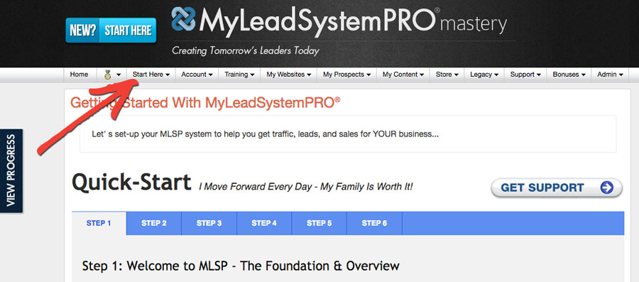MLSP Review - Start Here Process