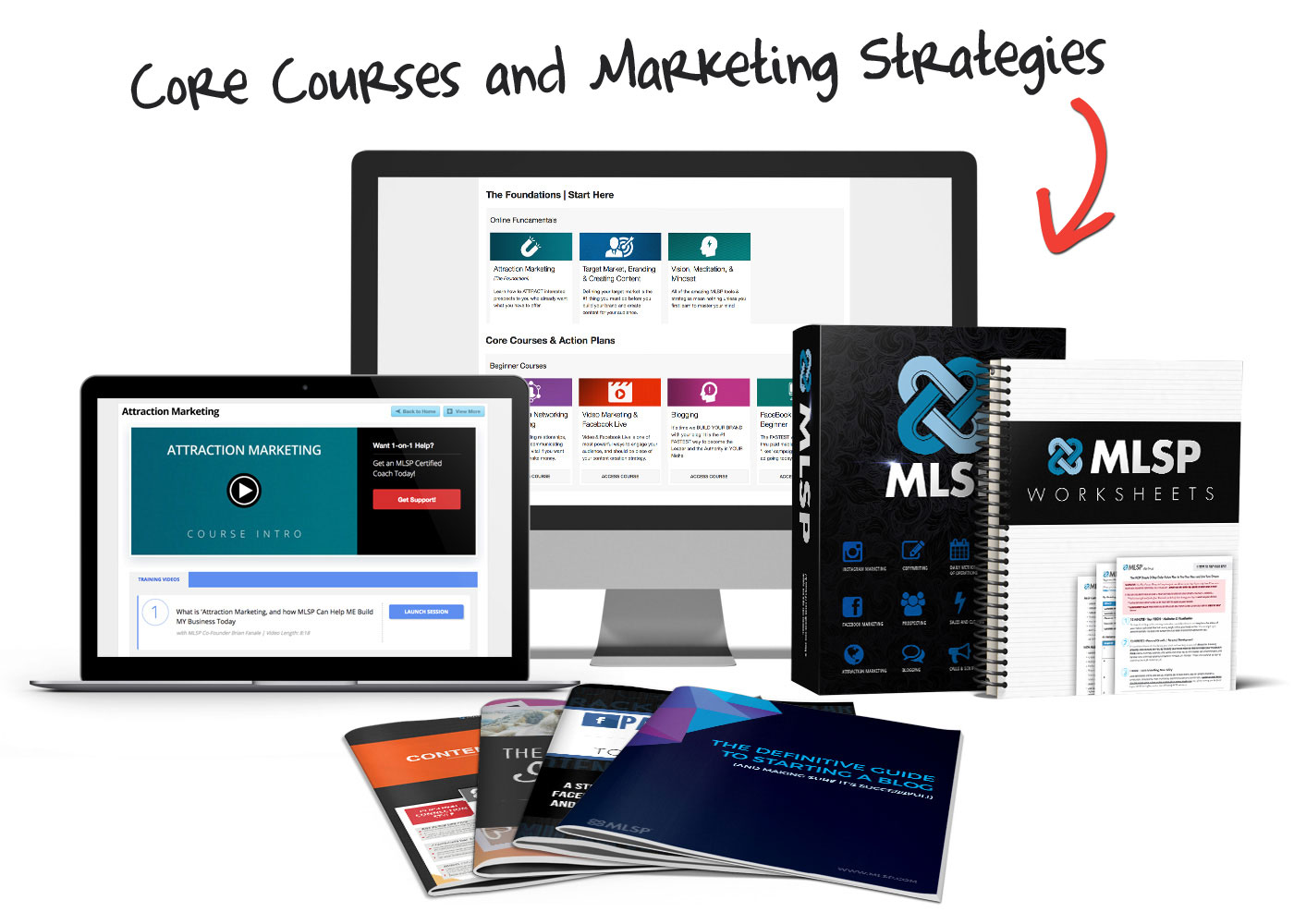 MLSP Core Courses and Marketing Strategies