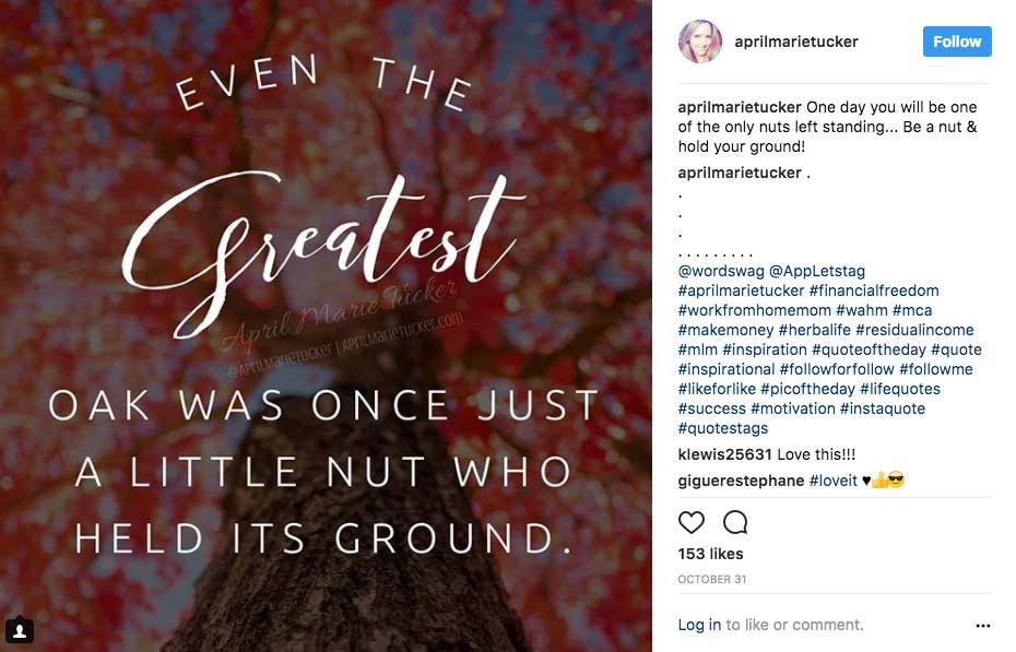 Instagram Marketing Strategy - Inspirational Posts