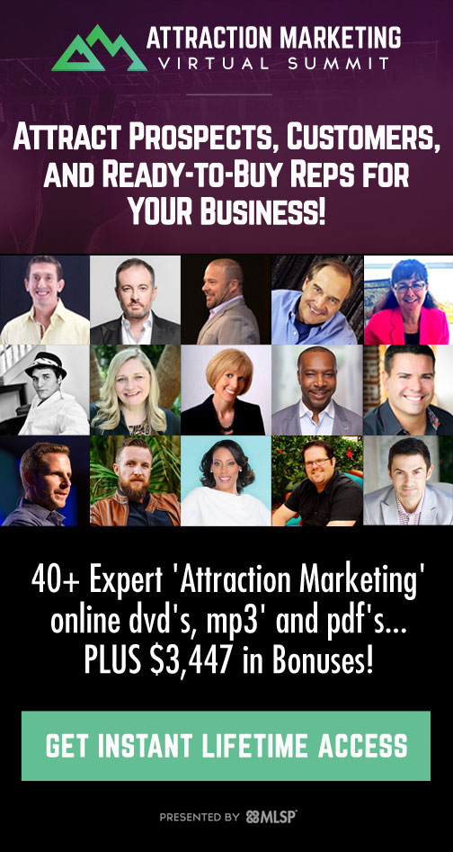 Attraction Marketing Virtual Summit!