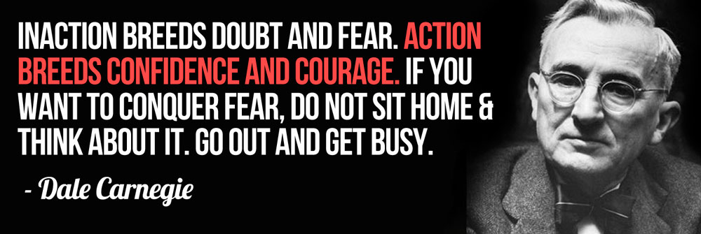 MLM Training - Dale Carnegie - Go out and take action!