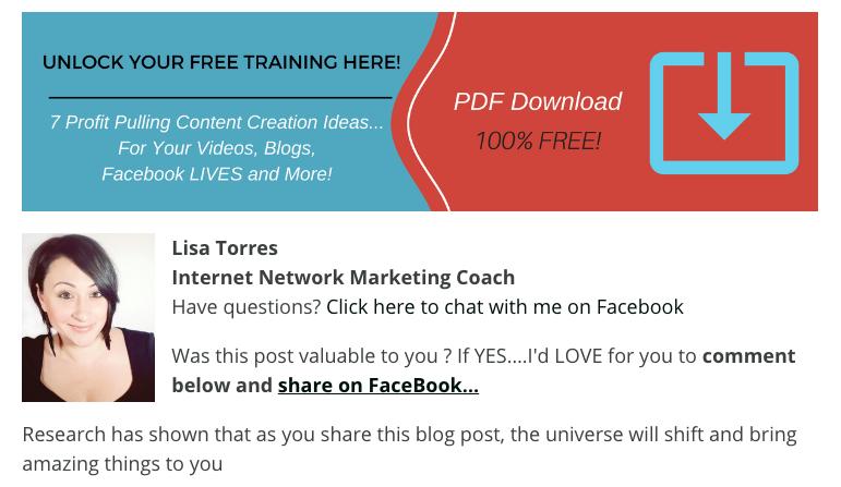 Blog Post Footer Lead Magnet