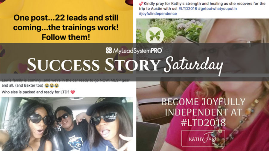 """[Success Story Saturday] """"9 Leads, 2 Event Guests, and a $577 Customer Order from a Stranger Reaching Out to Me"""""""