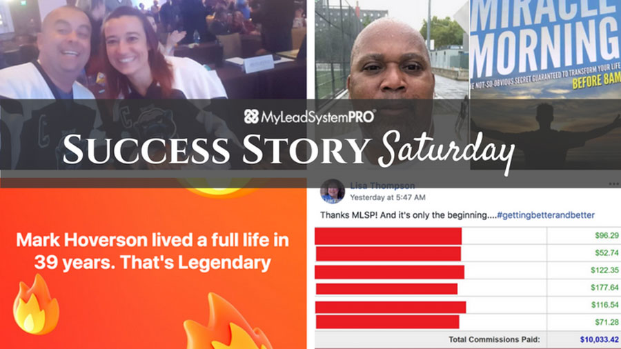 """[Success Story Saturday] """"Mark Hoverson lived a full life in 39 years. That's Legendary!"""""""