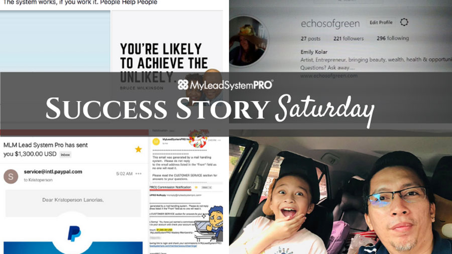 """[Success Story Saturday] """"I love MLSP! I'm Close to Earning $40K with them Part Time."""""""