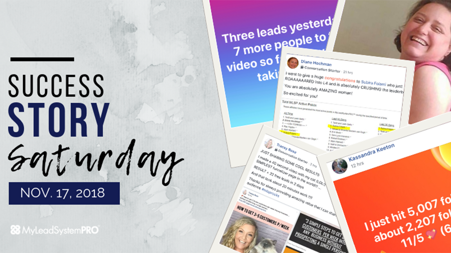[Success Story Saturday] 40 Second Video = 22 Free Leads in 2 Days
