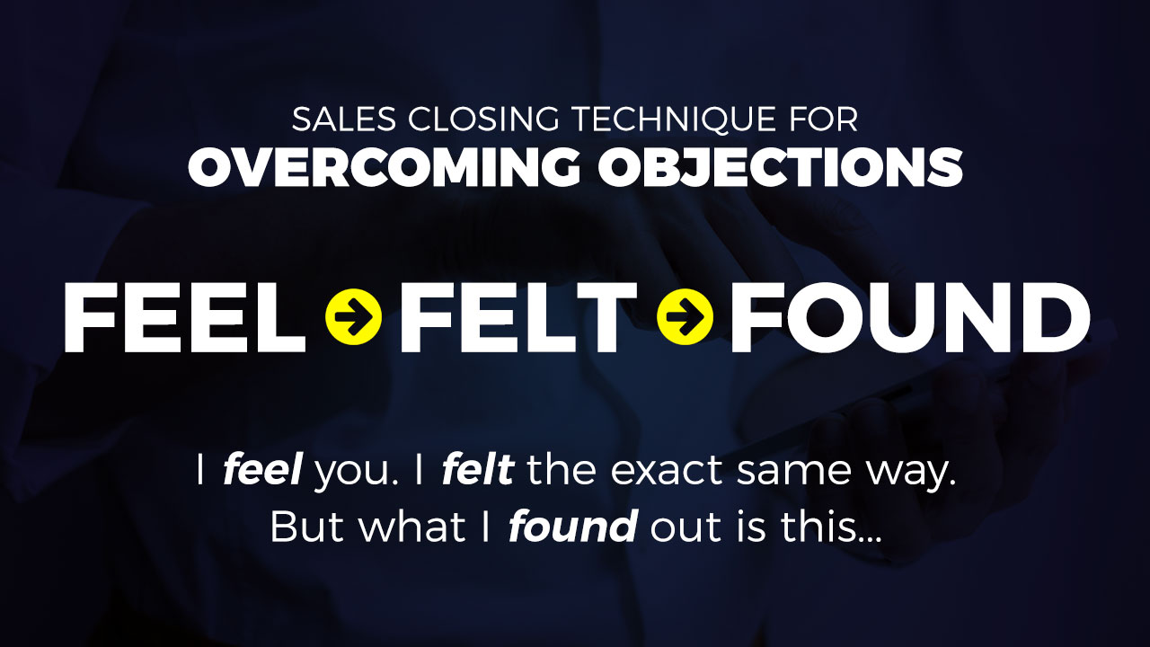 Sales Closing Techniques - overcoming objections