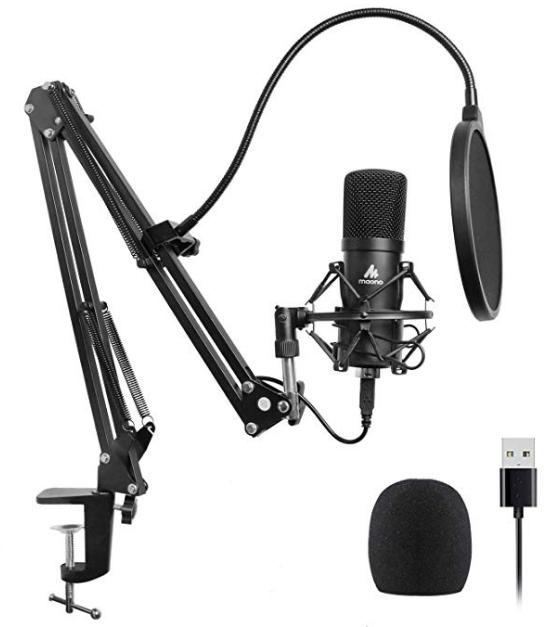 MAONO AU-A04 USB Condenser Microphone ($63.99)