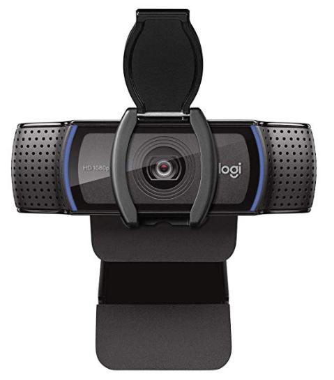 LZYDD Webcam Privacy Shutter Protects Lens Cap Hood Cover for Logitech HD Pro Webcam C920 / C930e / C922