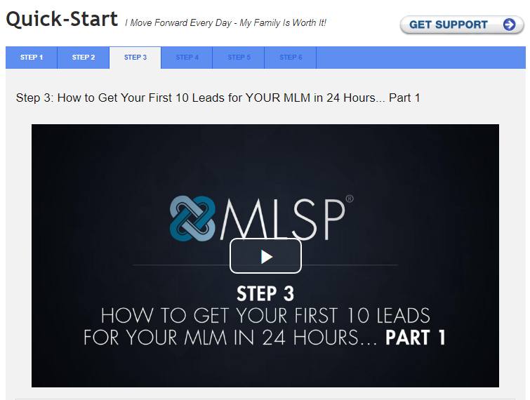 MLSP Quick Start to Generate Leads Online