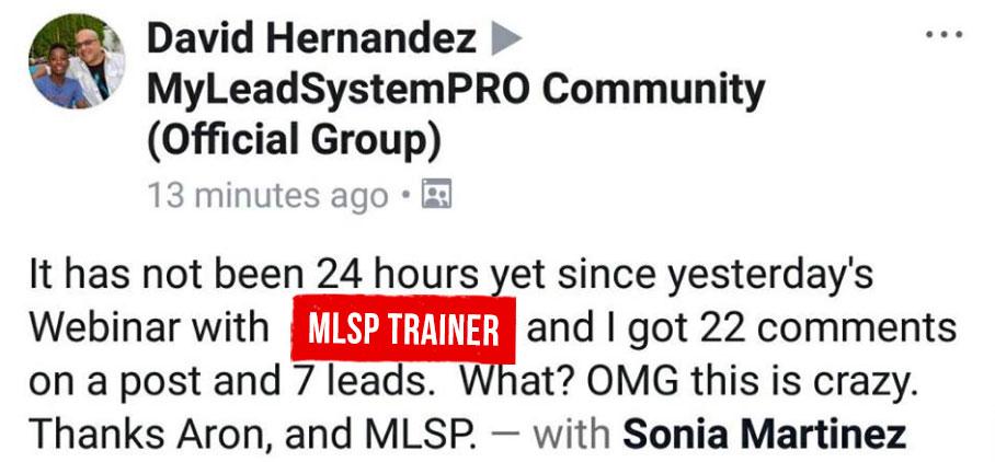 MLSP Testimonial - Help Generate Leads Online
