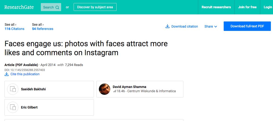 Instagram Study