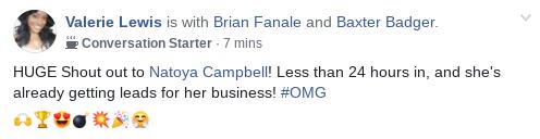 Natoya Campbell Success Story