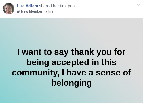 Liza Adlam Success Story