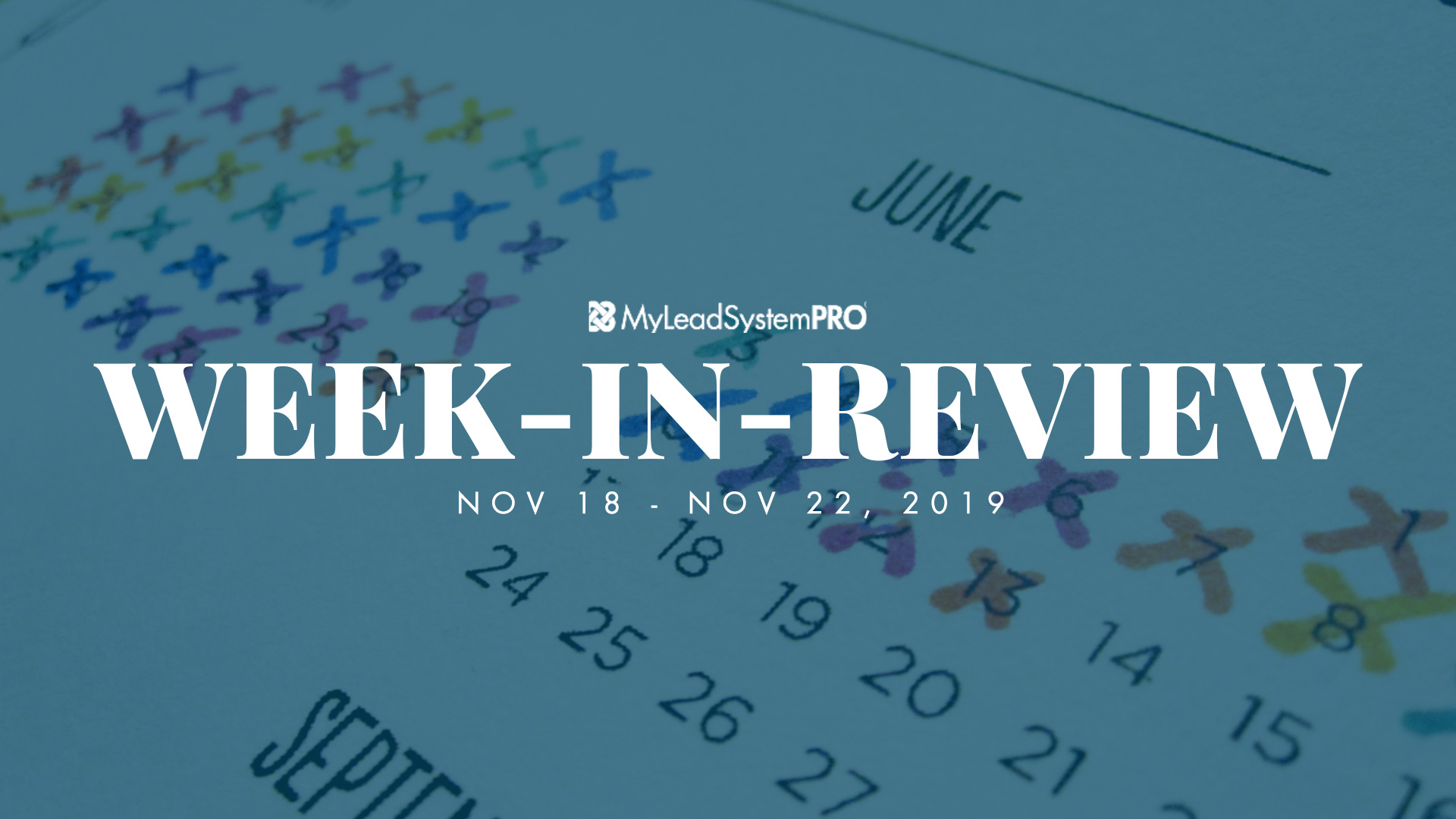 Week in Review 11-18-19