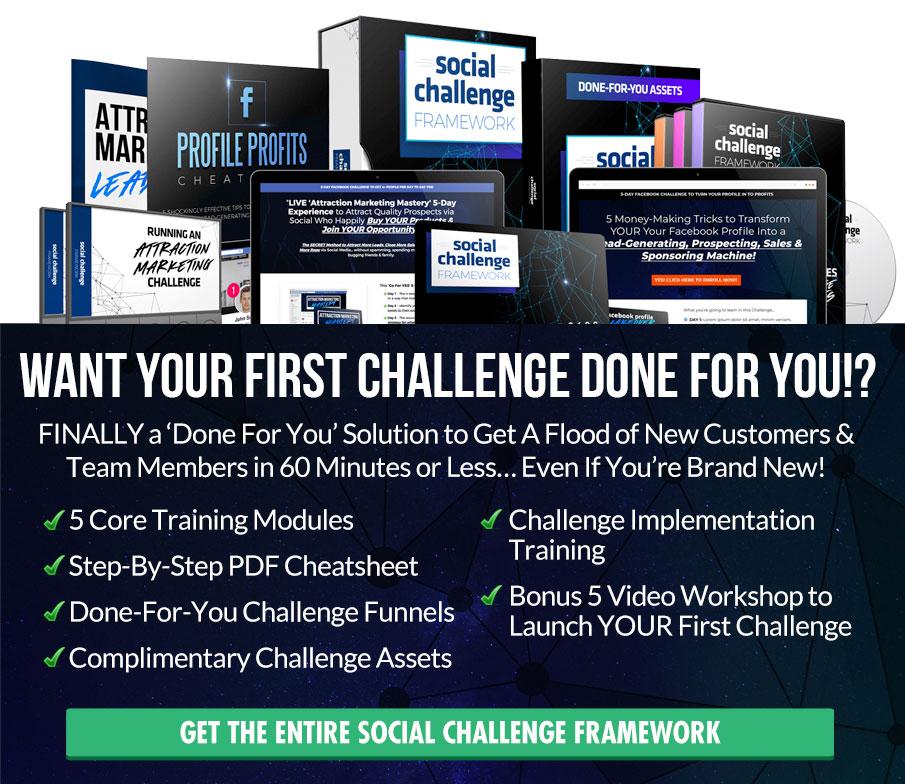 Social Challenge Framework