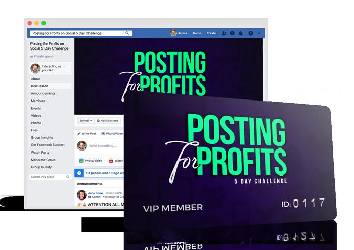 Posting for Profits Challenge