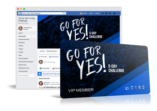Go For Yes Challenge